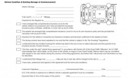 007 Shocking Template Vehicle Rental Agreement Example  Car Word Motor Contract