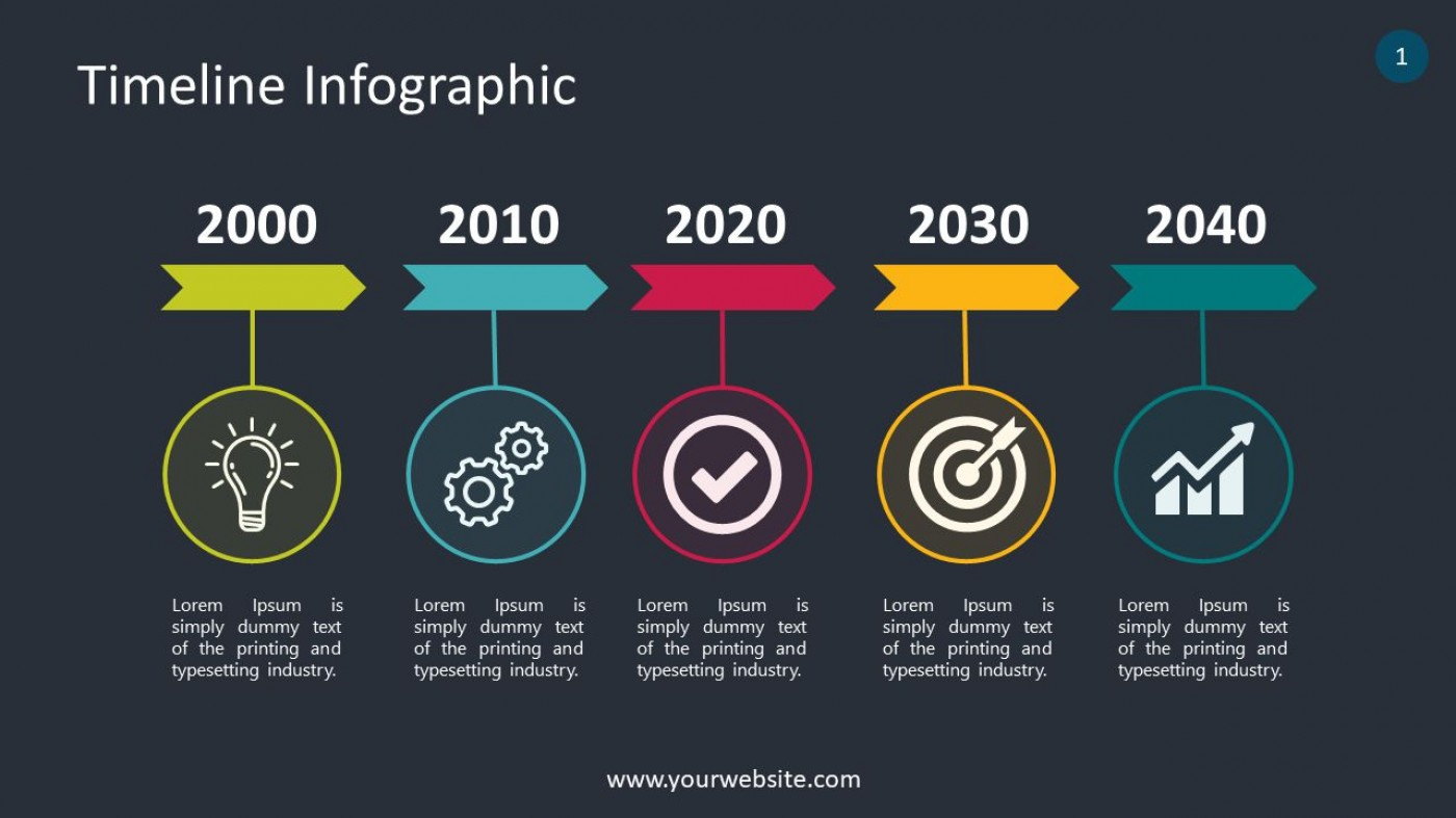 007 Shocking Timeline Infographic Template Powerpoint Download Image  Free1400