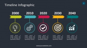 007 Shocking Timeline Infographic Template Powerpoint Download Image  Free360