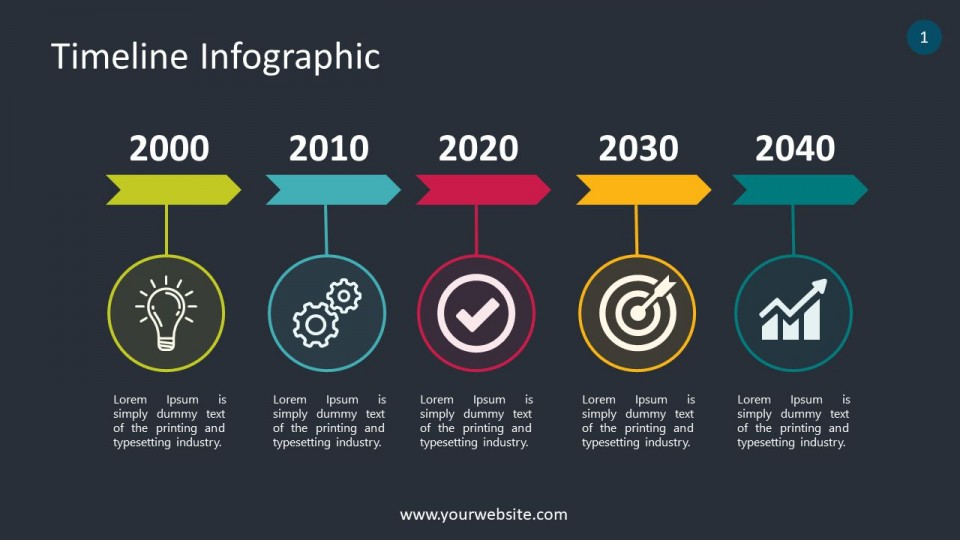 007 Shocking Timeline Infographic Template Powerpoint Download Image  Free960