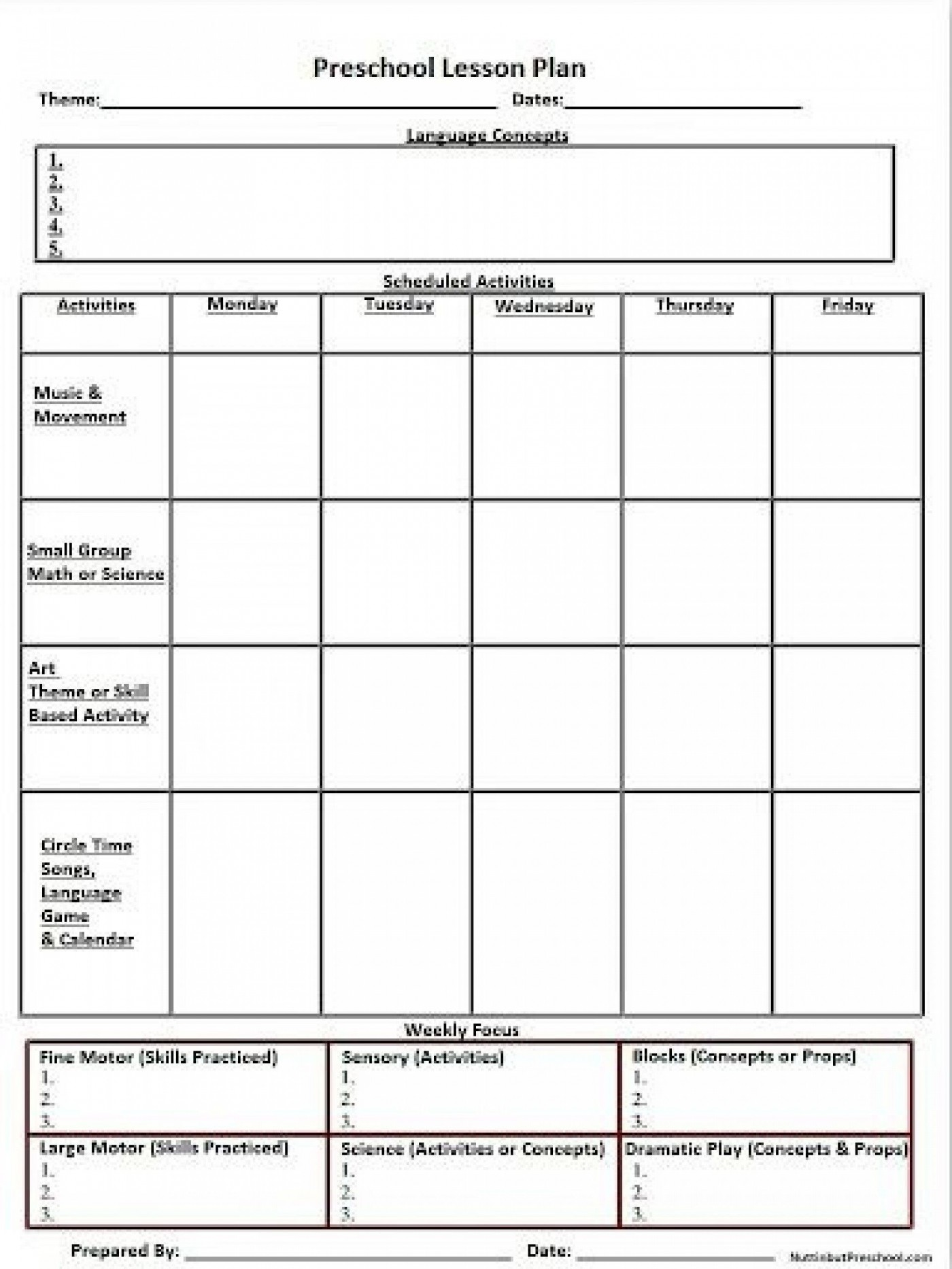 007 Shocking Weekly Lesson Plan Template High School Def  Free Example For English Pdf Of Junior1400