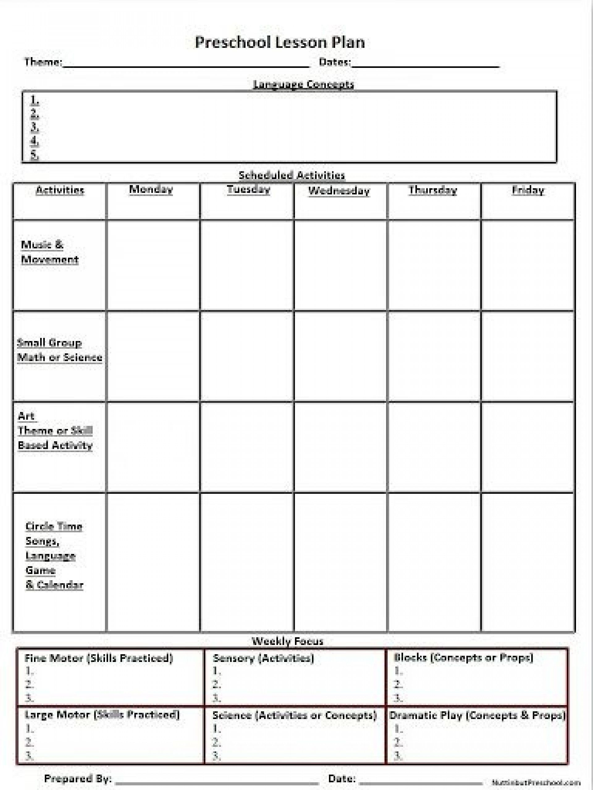 007 Shocking Weekly Lesson Plan Template High School Def  Free For Math Example History1920
