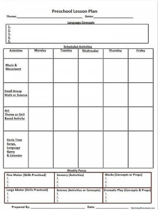 007 Shocking Weekly Lesson Plan Template High School Def  Free Example For English Pdf Of Junior320