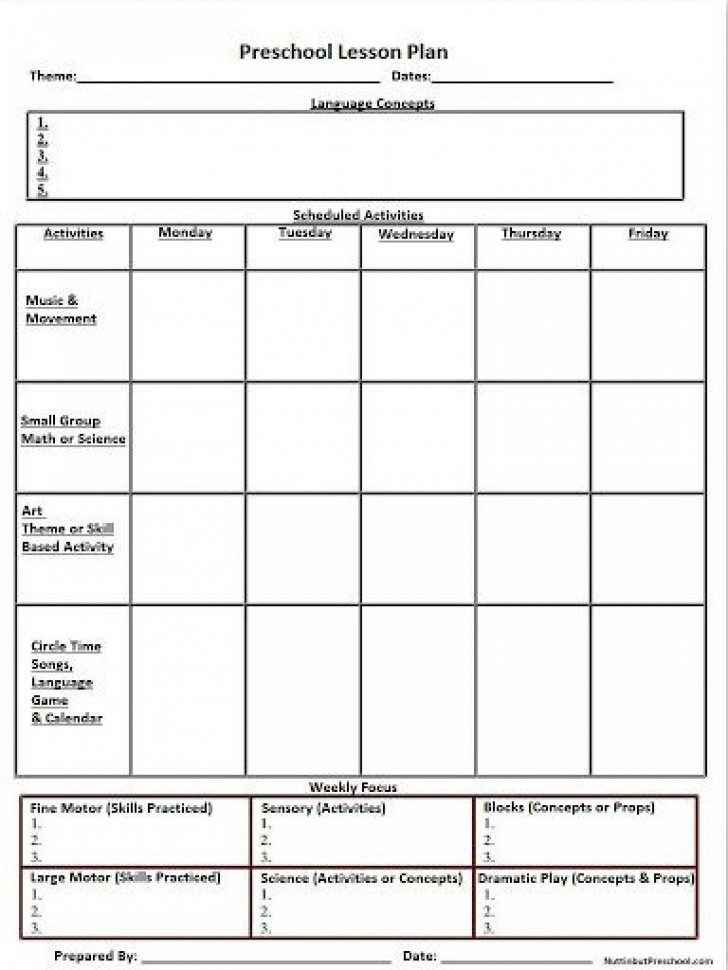 007 Shocking Weekly Lesson Plan Template High School Def  Free For Math Example History728