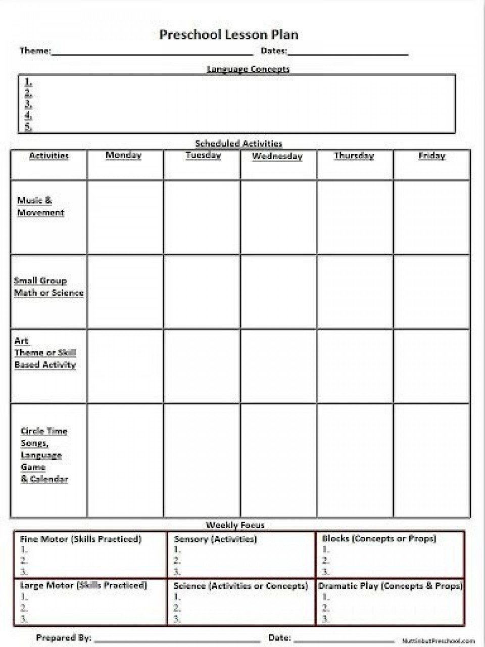 007 Shocking Weekly Lesson Plan Template High School Def  Free Example For English Pdf Of Junior960