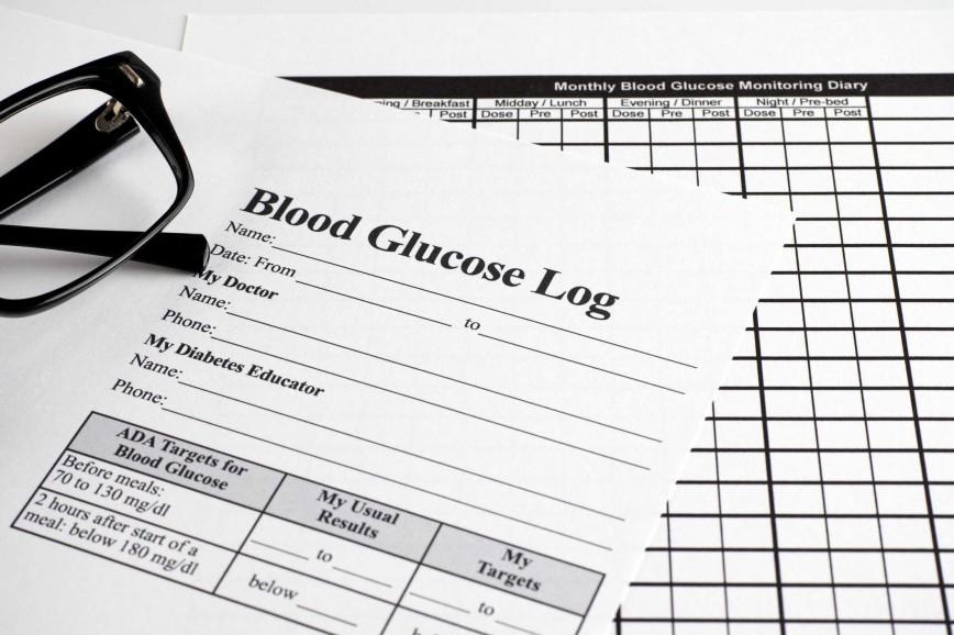 007 Simple Blood Sugar Log Book Template Idea  Glucose868