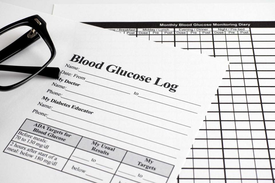 007 Simple Blood Sugar Log Book Template Idea  Glucose960