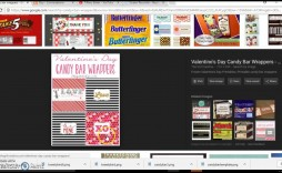 007 Simple Candy Bar Wrapper Template Microsoft Word High Def  Printable Free For Blank
