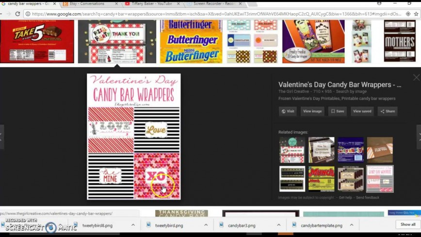 007 Simple Candy Bar Wrapper Template Microsoft Word High Def  Blank For Printable Free868