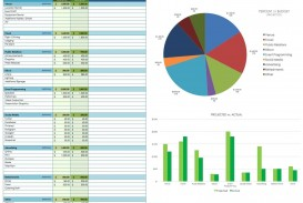 007 Simple Event Budget Template Excel Concept  Download 2010 Planner