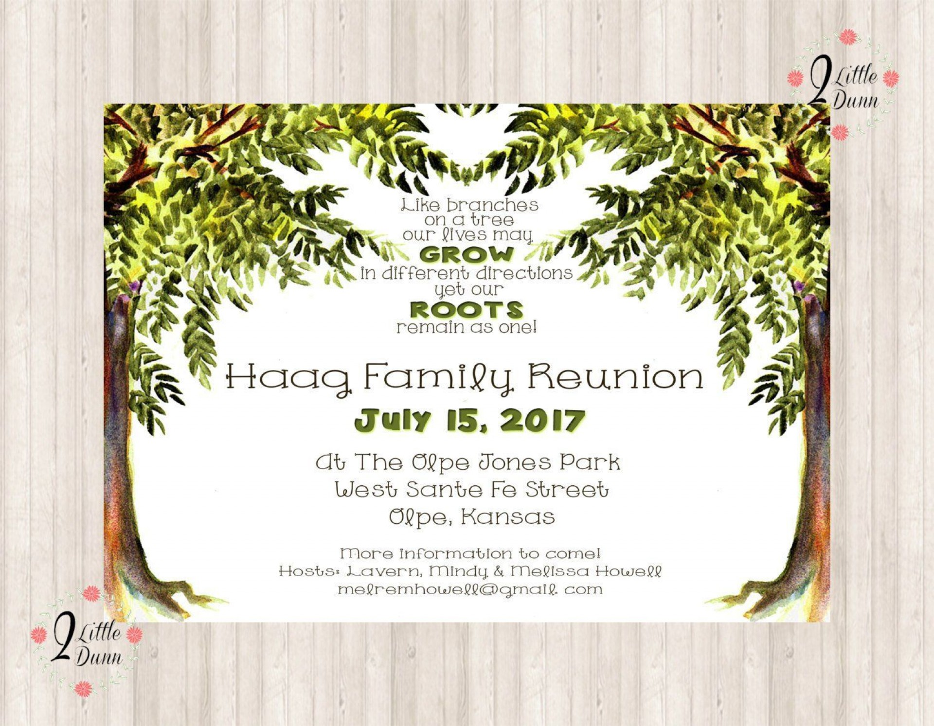 007 Simple Family Reunion Invitation Template Free Highest Quality  For Word Online1920