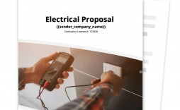 007 Simple Free Electrical Service Contract Template High Definition