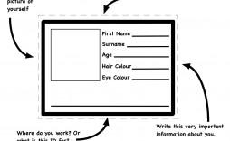007 Simple Free Printable Id Card Template Photo  Templates Medical Editable