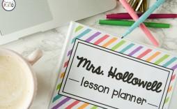 007 Simple Free Printable Teacher Binder Template Inspiration  Templates