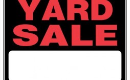 007 Simple Garage Sale Sign Template Picture  Free Flyer Microsoft Word Yard