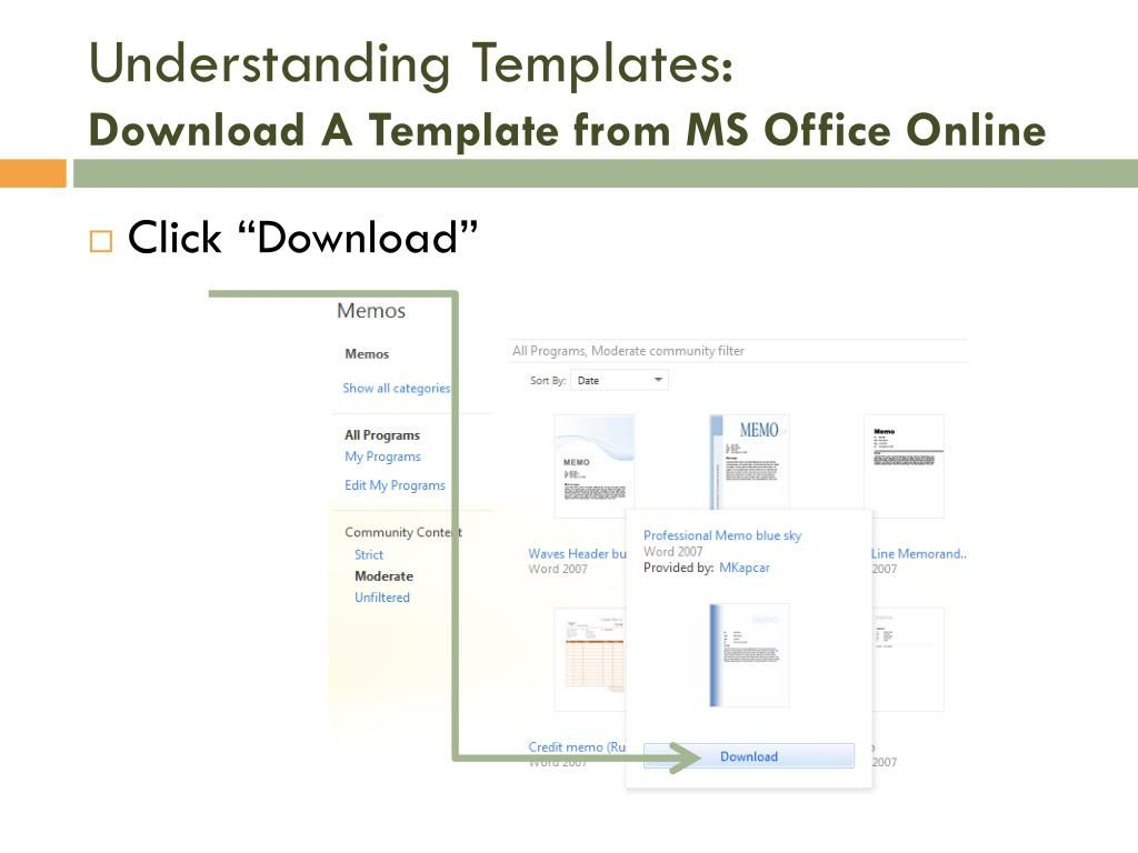 007 Simple Microsoft Office Word 2010 Memo Template Highest Quality Full
