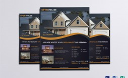 007 Simple Open House Flyer Template High Def  Templates Word Free Microsoft Real Estate