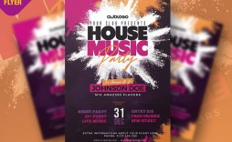 007 Simple Party Flyer Psd Template Free Download Example  Rave