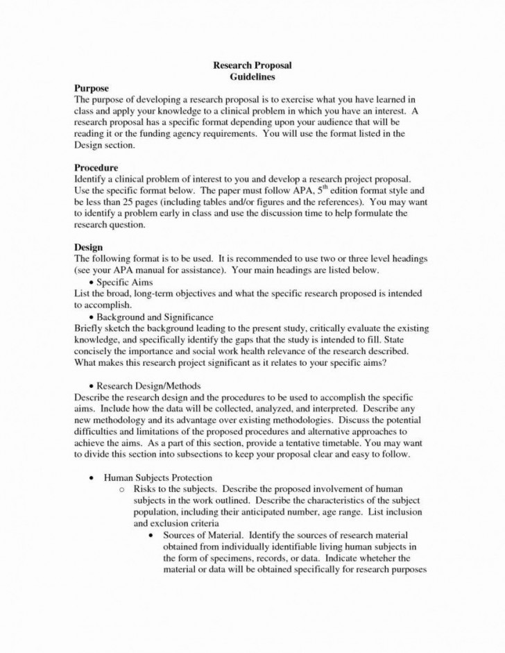 007 Simple Research Paper Proposal Example Chicago Design 728