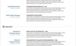 007 Simple Sample Curriculum Vitae Template Download High Def  Professional Pdf Free For Student