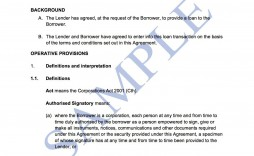 007 Simple Family Loan Agreement Template Australia Highest Clarity