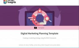 007 Singular Digital Marketing Campaign Plan Example Concept  Template