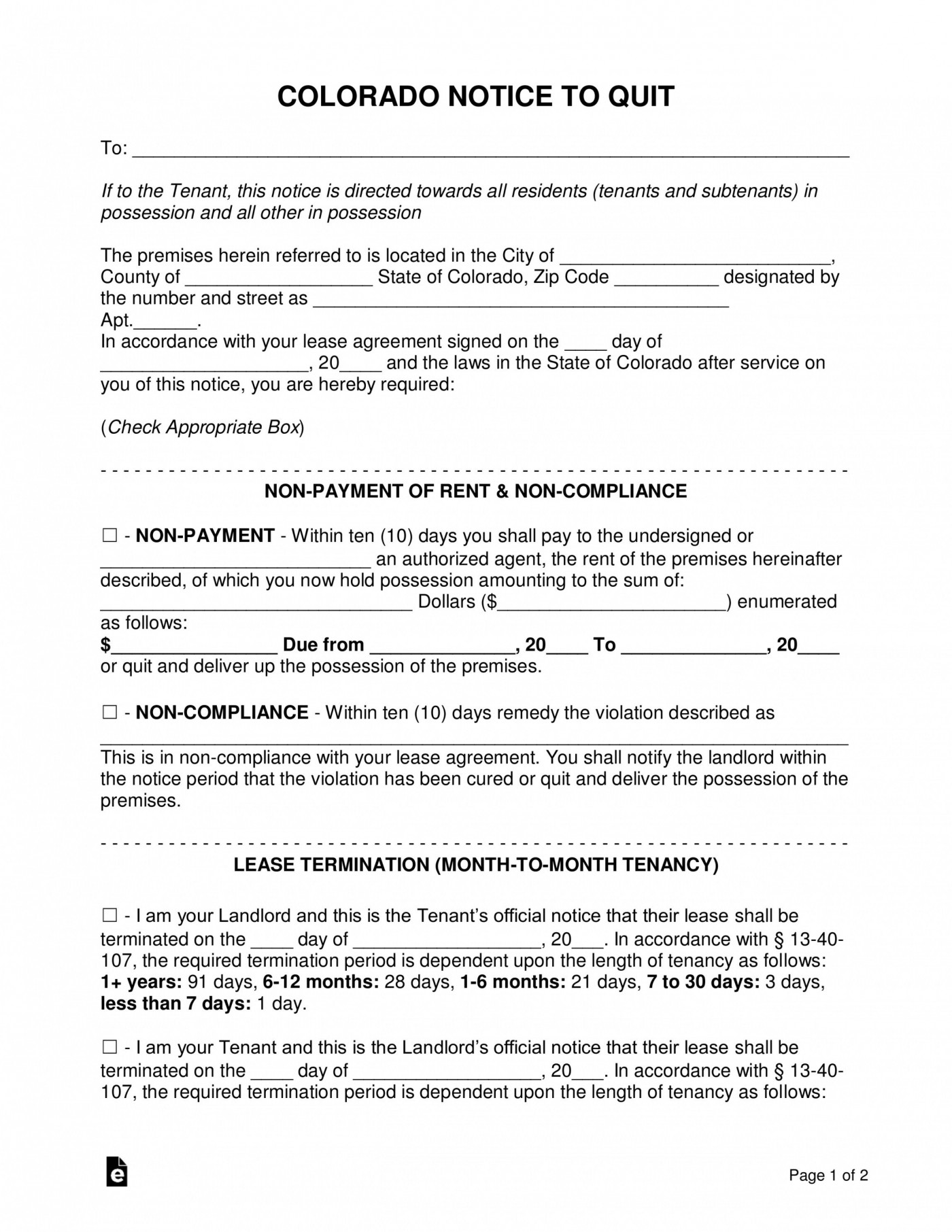 007 Singular Free Eviction Notice Template Inspiration  Word Uk Section 211400