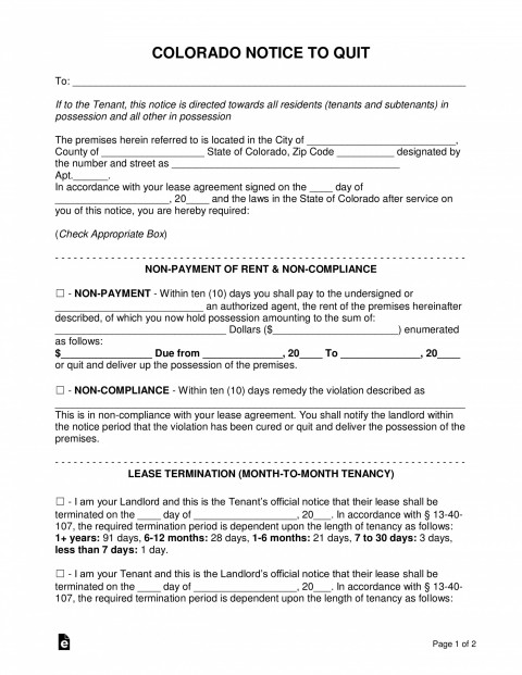 007 Singular Free Eviction Notice Template Inspiration  Printable Texa Pdf480