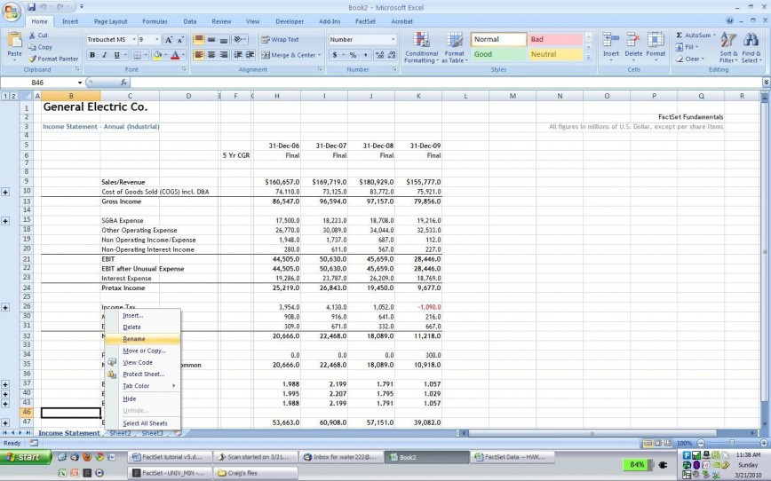 007 Singular Income Statement Format Excel Free Download Image  Monthly