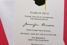 007 Singular Microsoft Word Graduation Invitation Template High Resolution  Party