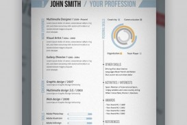 007 Singular One Page Resume Template Photo  Word Free For Fresher Ppt Download Html