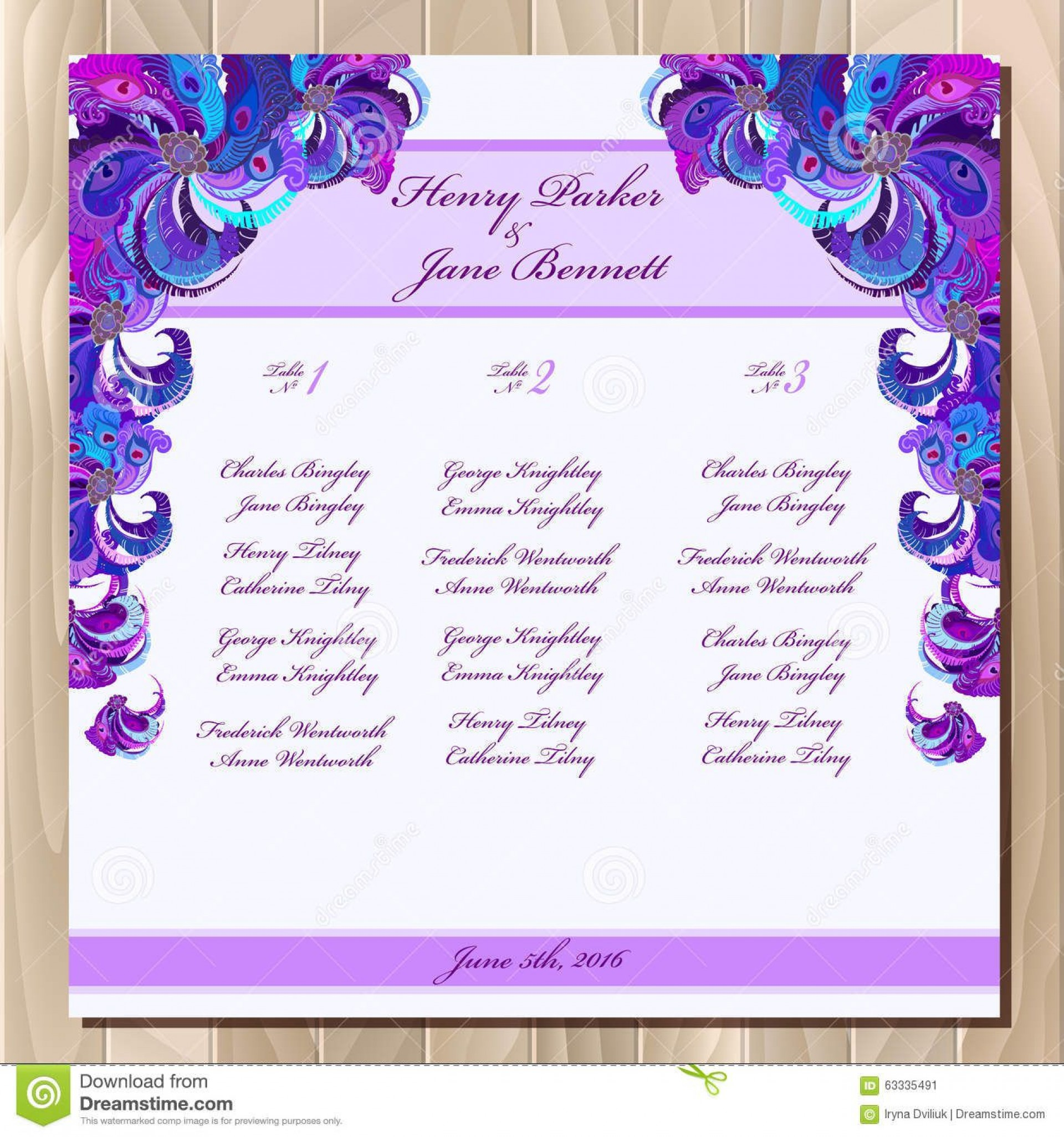 007 Singular Party Guest List Template Excel Free Highest Quality 1920