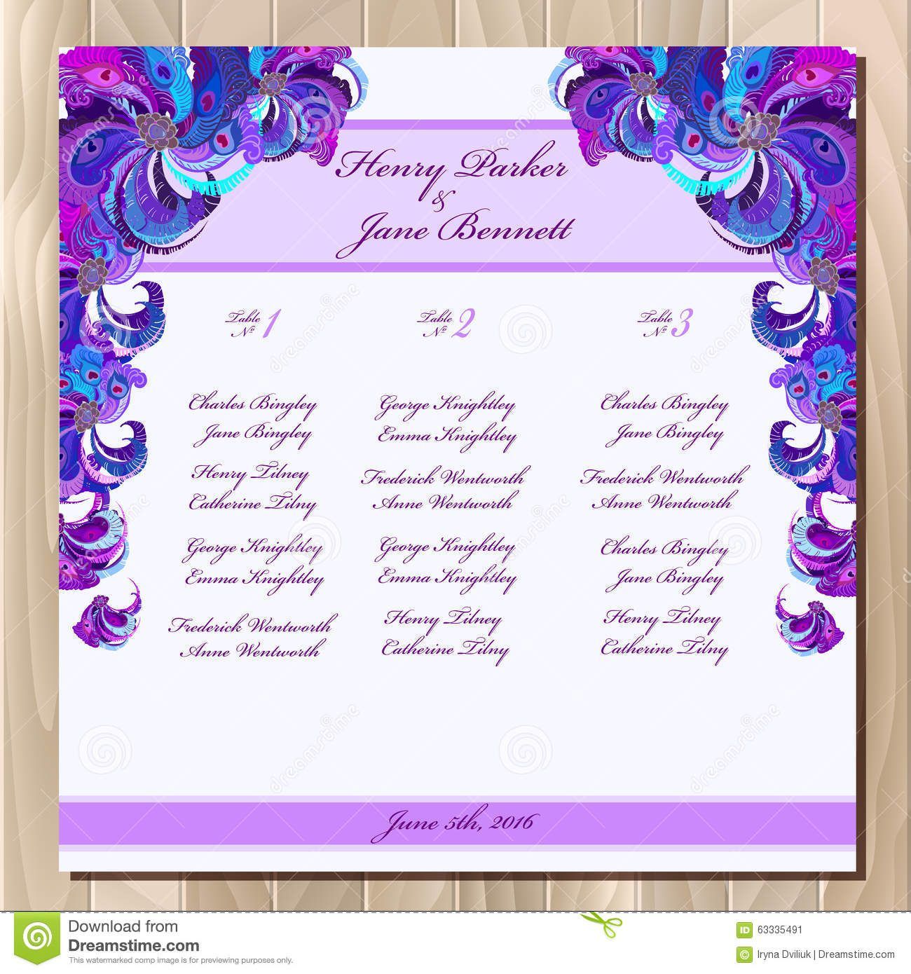 007 Singular Party Guest List Template Excel Free Highest Quality Full