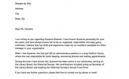 007 Singular Personal Reference Letter Of Recommendation Template Sample  Character