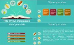 007 Singular Ppt Template For Teacher Example  Teachers Free Download Powerpoint Education Kindergarten