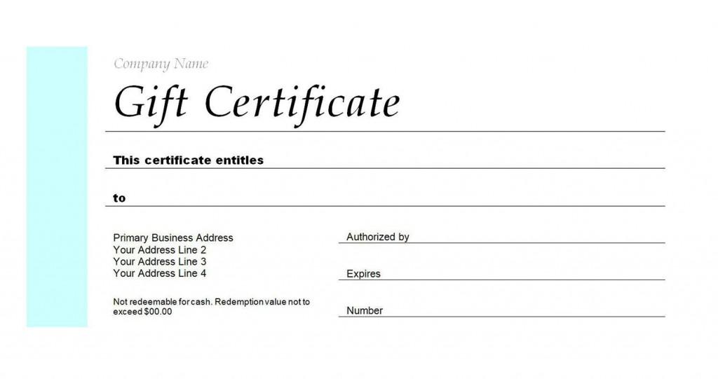 007 Singular Restaurant Gift Certificate Template High Definition  Templates Card Word Voucher FreeLarge