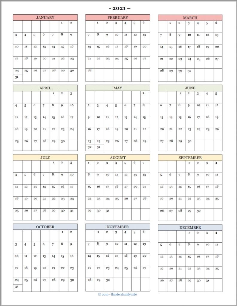 007 Singular School Year Calendar Template High Def  Excel 2019-20 WordFull