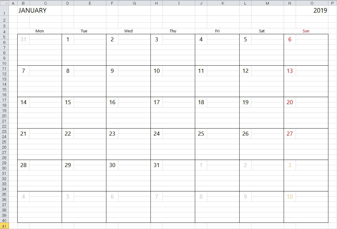 007 Staggering 2020 Calendar Template Excel High Definition  Microsoft Editable In Format Free DownloadFull