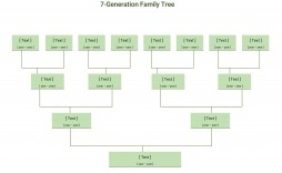 007 Staggering 7 Generation Family Tree Template High Def  Blank Free Editable