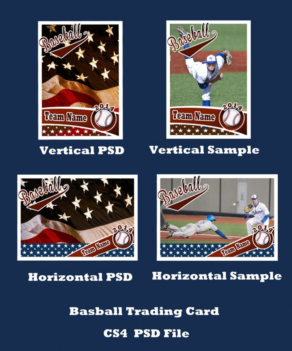007 Staggering Baseball Card Template Photoshop Highest Clarity  Topp FreeLarge