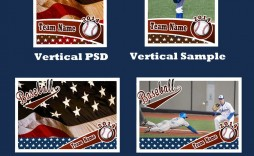 007 Staggering Baseball Card Template Photoshop Highest Clarity  Topp Free