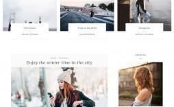 007 Staggering Free Blog Template Wordpres Sample  Wordpress Best Travel Theme Food 2020
