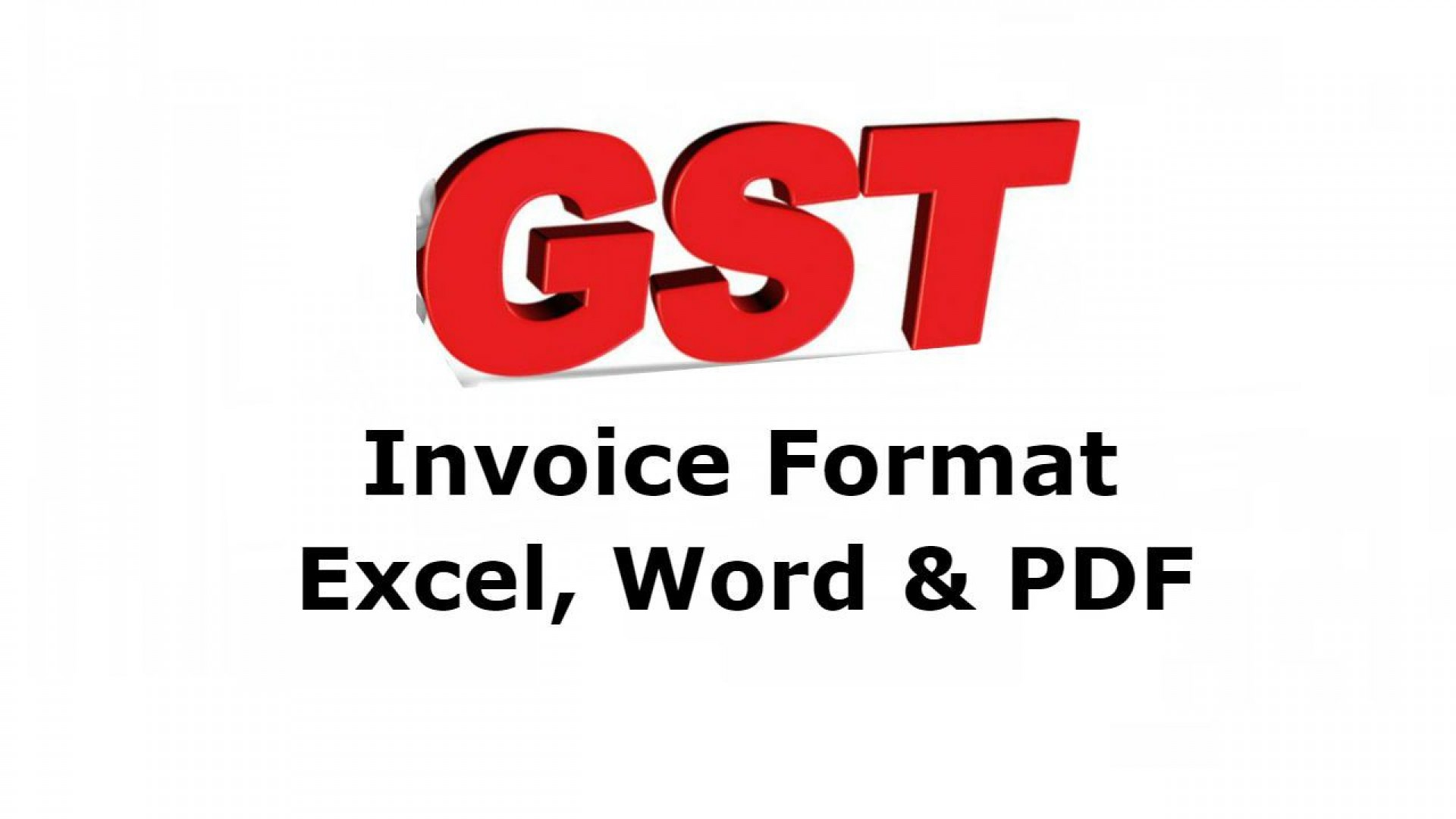007 Staggering Free Excel Invoice Template Gst India High Resolution 1920