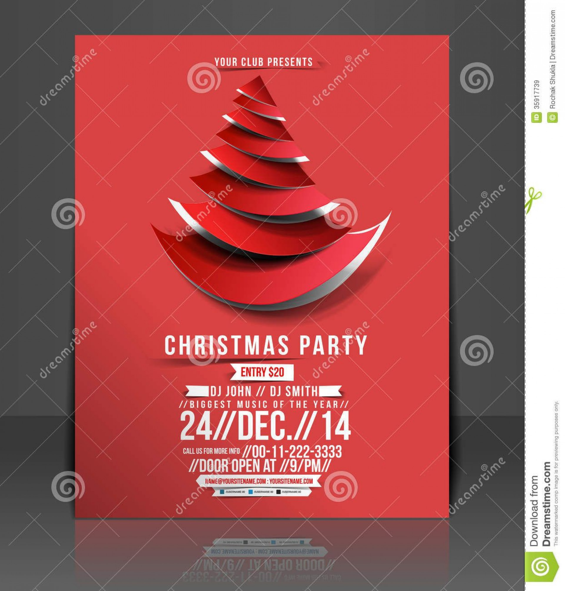 007 Staggering Free Holiday Party Flyer Template Word Inspiration 1920
