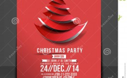 007 Staggering Free Holiday Party Flyer Template Word Inspiration