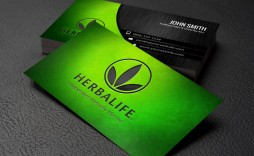 007 Staggering Herbalife Busines Card Template Concept  Download Free