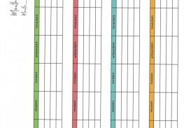 007 Staggering Meal Plan Printable Pdf Idea  Worksheet Downloadable Template Sheet