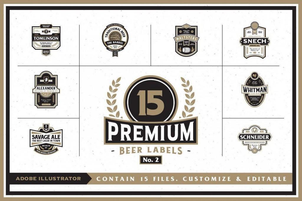 007 Staggering Microsoft Word Beer Label Template Sample  BottleLarge