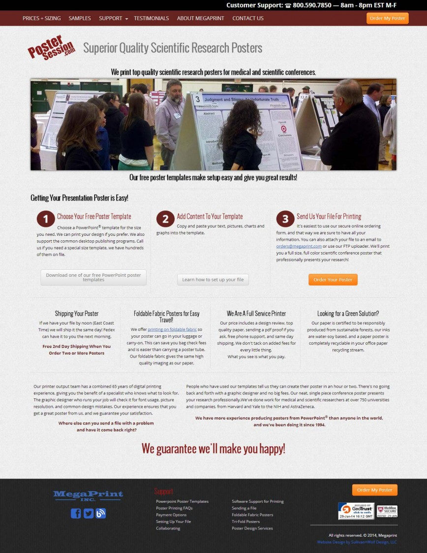 007 Staggering Scientific Poster Template Free Powerpoint Highest Quality  Research Presentation