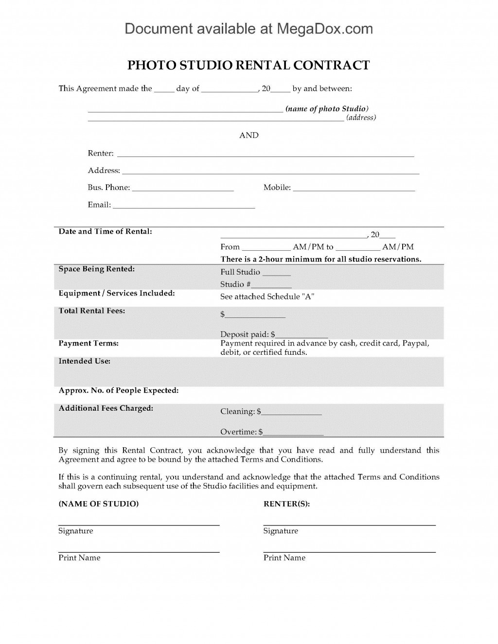 007 Stirring Beat Lease Contract Template Highest Quality  Unlimited PdfLarge